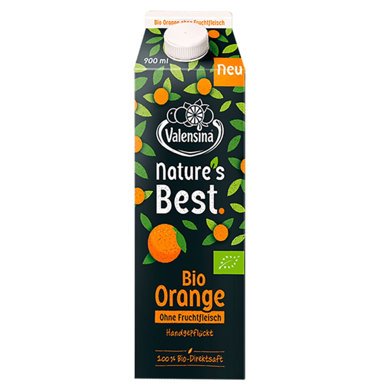 Valensina® Nature's Best Bio-Orangensaft 900 ml*