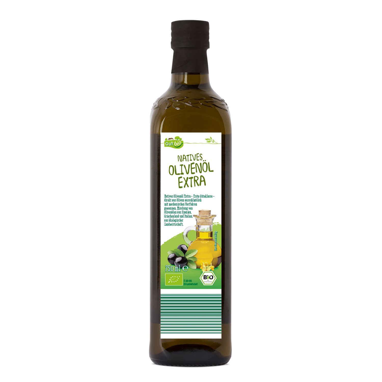 GUT bio Natives Olivenöl Extra 750 ml