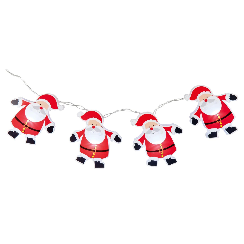 Weihnachtsschmuck Weihnachtsmann Weihnachten Tischdeko 20 x 9 cm aus Filz