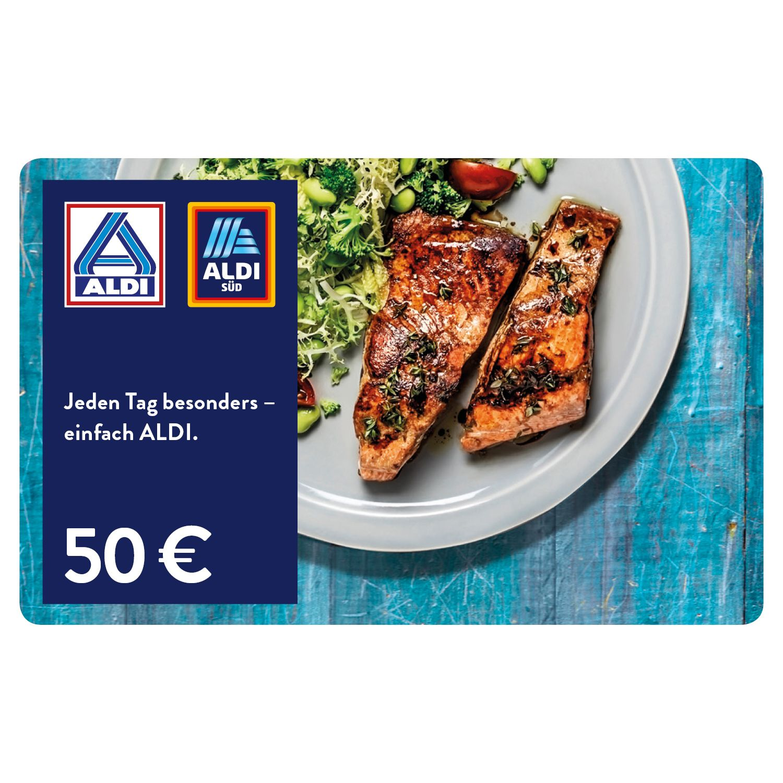 ALDI Geschenkgutschein 50 EUR