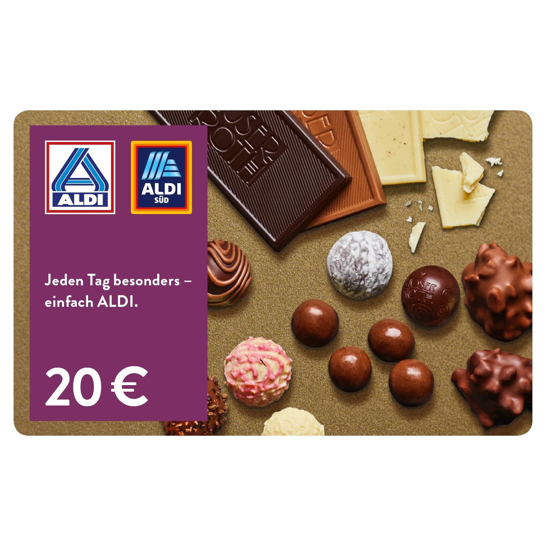 ALDI Geschenkgutschein 20 EUR