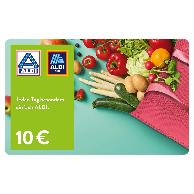 ALDI Geschenkgutschein 10 EUR