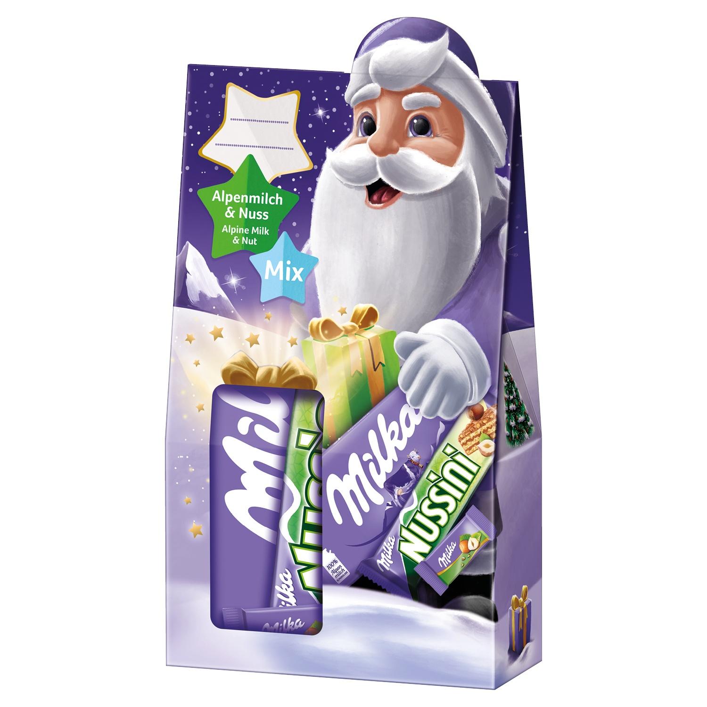 Milka Alpenmilch und Nuss Geschenkbox 163 g*