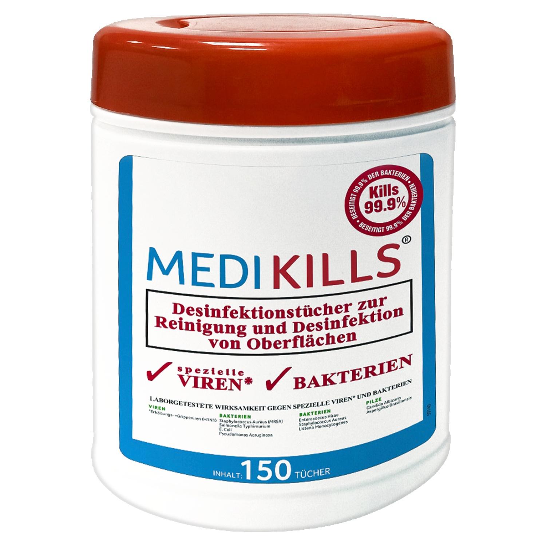 MEDIKILLS® Desinfektionstücher-Box*