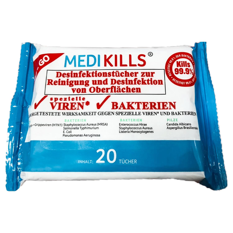 MEDIKILLS® Desinfektionstücher*