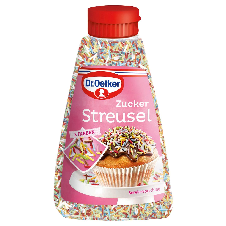 Dr. Oetker Backzutaten, Zucker Streusel 130 g*