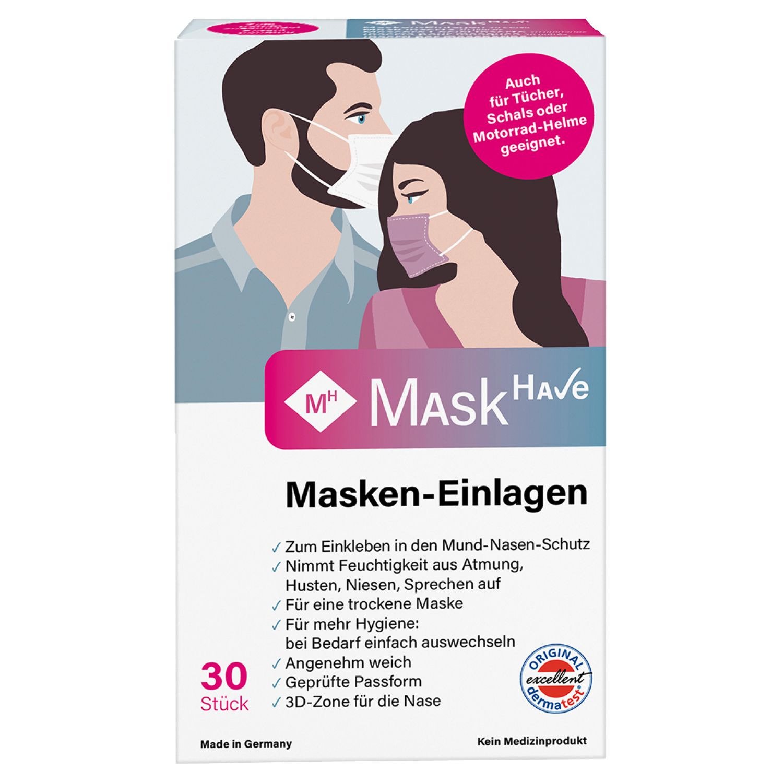 Mask Have Masken-Einlagen*