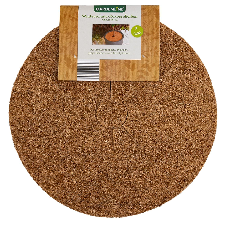 GARDENLINE® Winterschutz-Kokosscheiben*