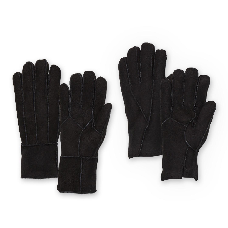 BELLANTARE Lammfell-Handschuhe für Herren
