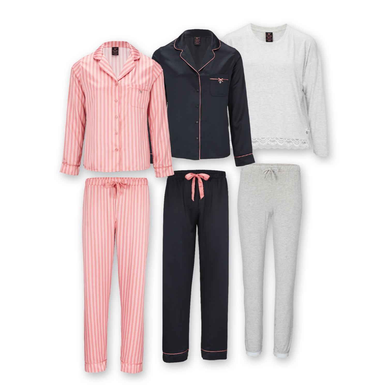 SYLVIE MEIS Damen-Schlafanzug