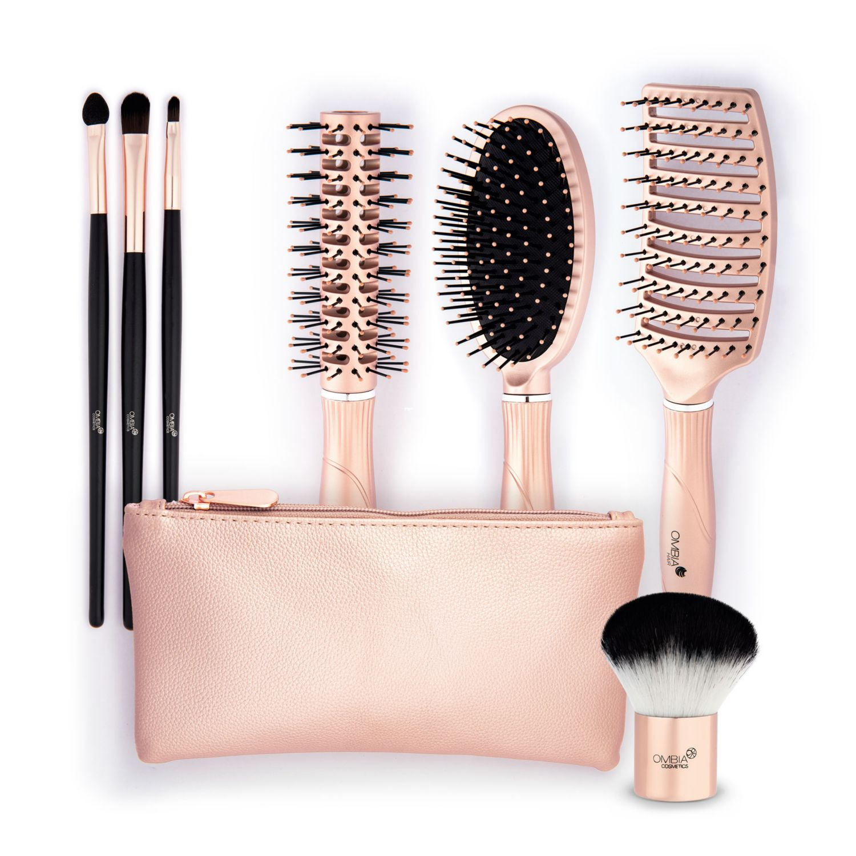 OMBIA Haar- und Kosmetikaccessoires Roségold