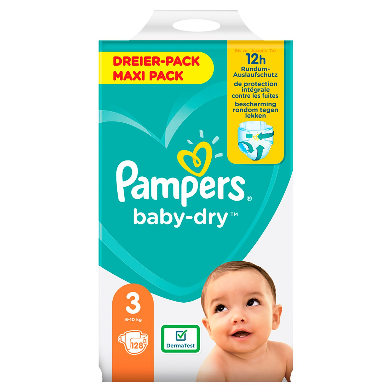 Pampers® baby-dry™*