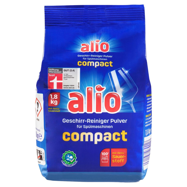 alio Geschirr-Reiniger-Pulver 1,8 kg