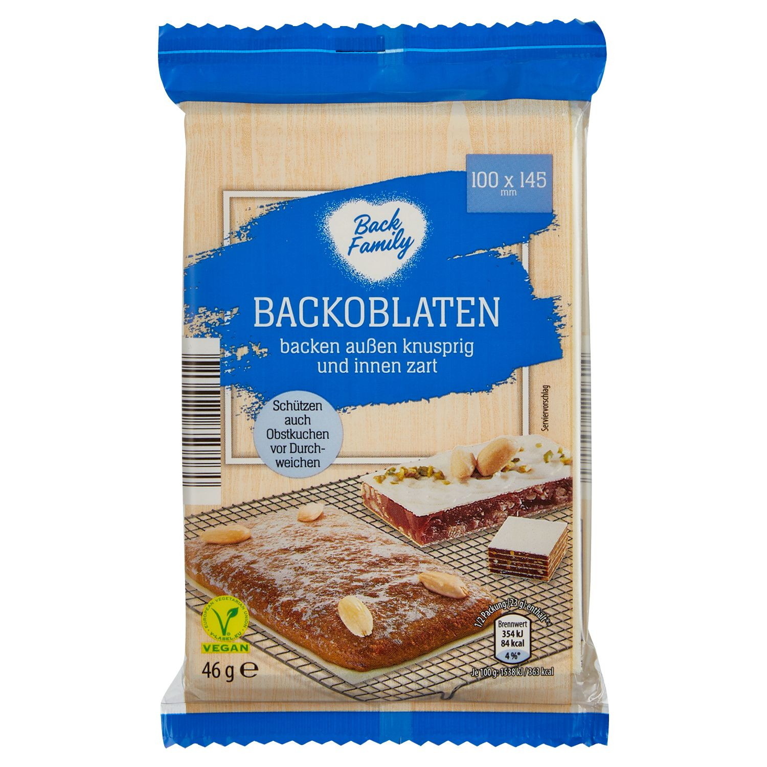 Back Family Backoblaten 46 g