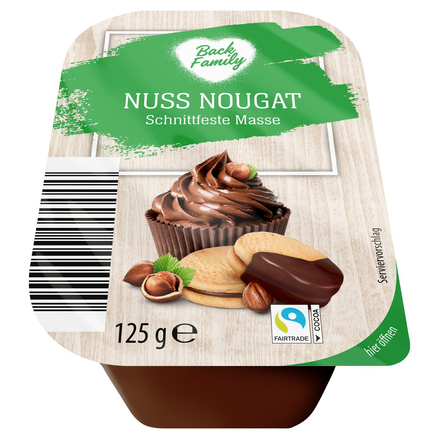 Back Family Nuss Nougat 125 g