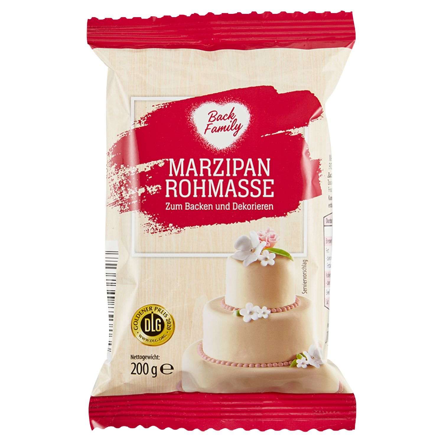 Back Family Marzipan Rohmasse 200 g