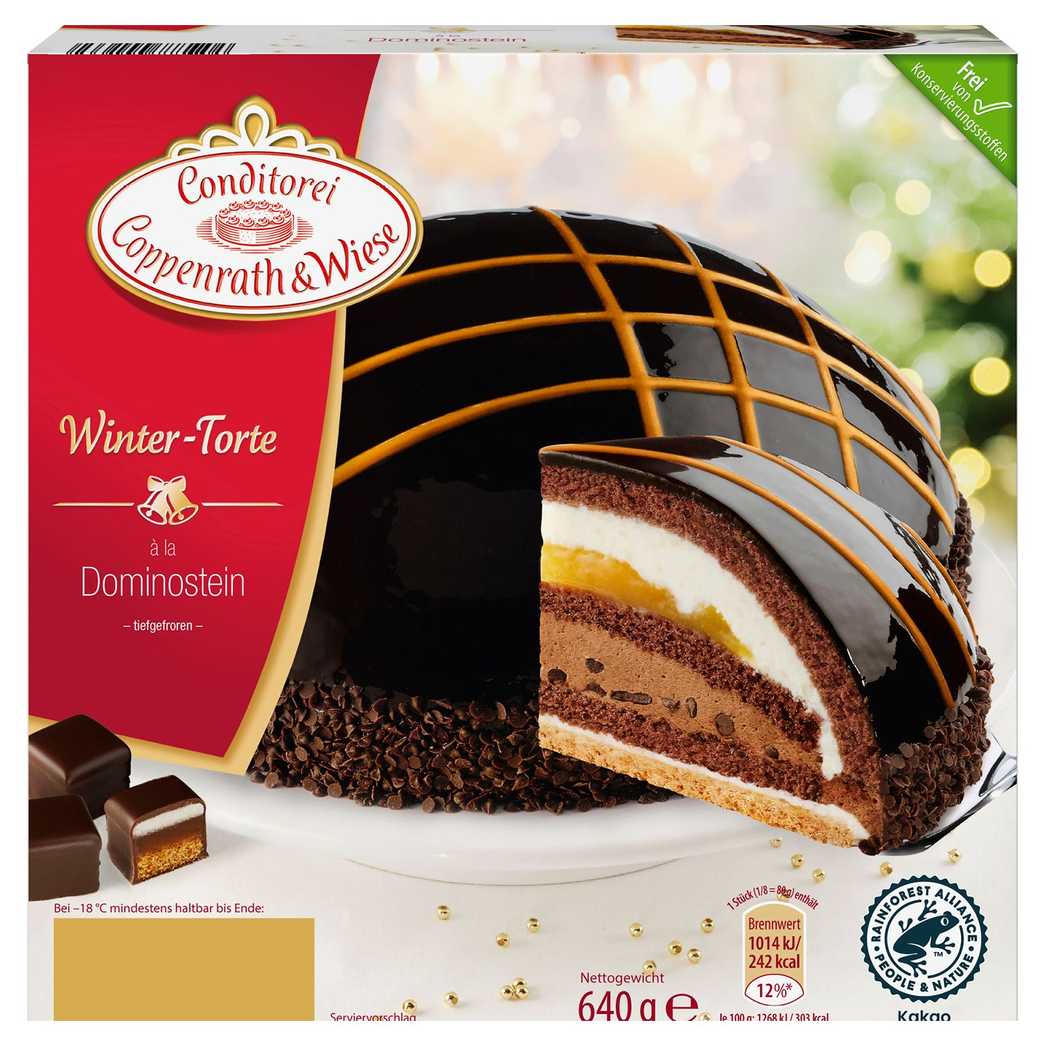 Conditorei Coppenrath & Wiese Winter-Torte 640 g*