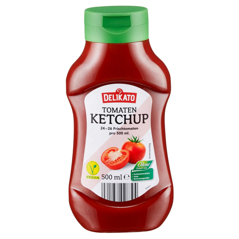 Delikato Tomatenketchup 500 ml