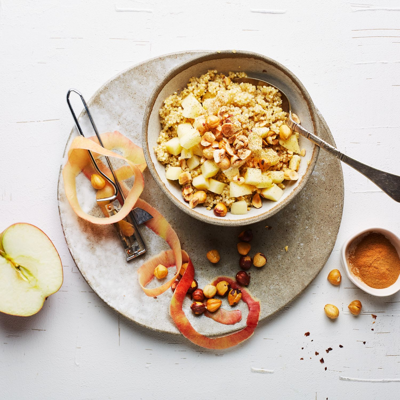 Quinoa-Apfel-Porridge
