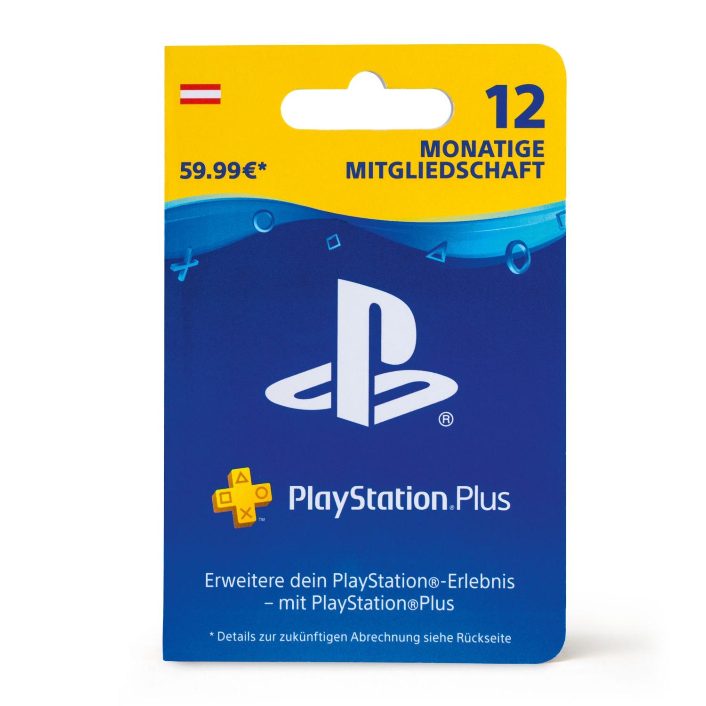 Geschenkkarte für PlayStation Plus 12 Monate