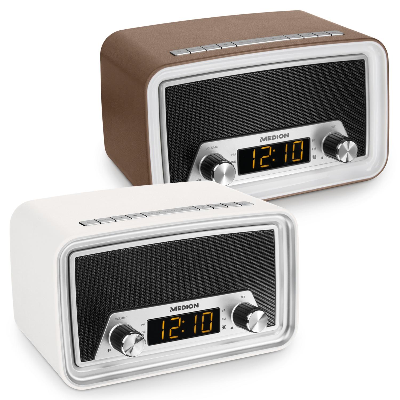 MEDION Retro Uhrenradio