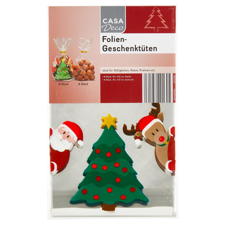 CASA Deco Folien-Geschenktüten*