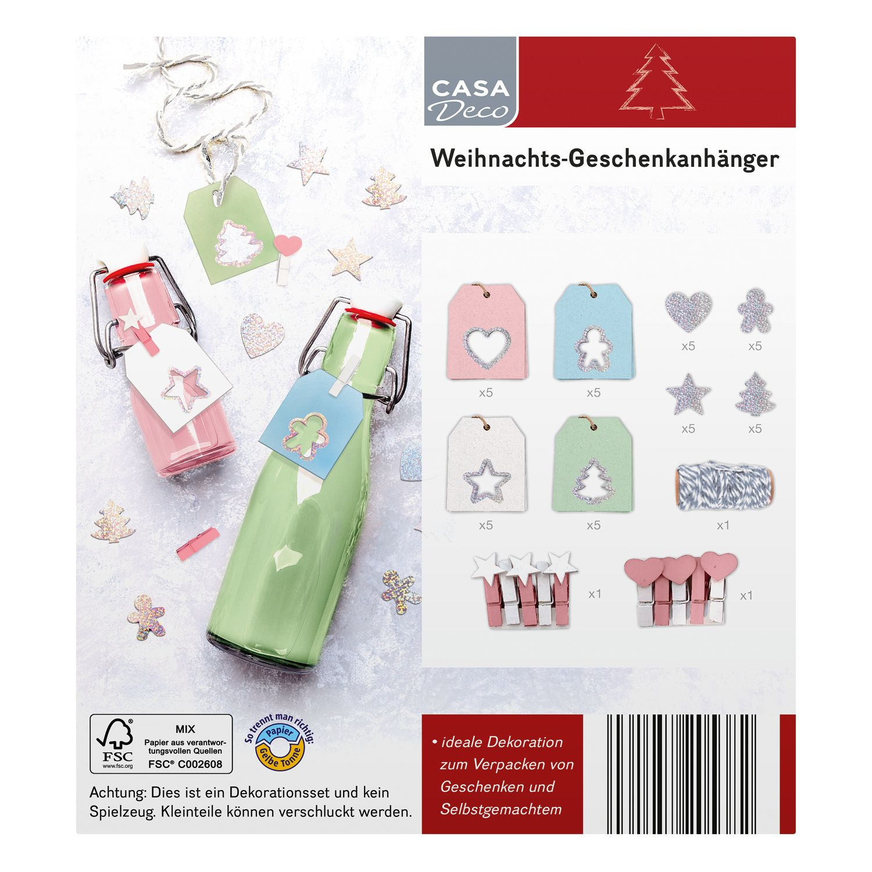 CASA Deco Weihnachts-Geschenkanhänger*