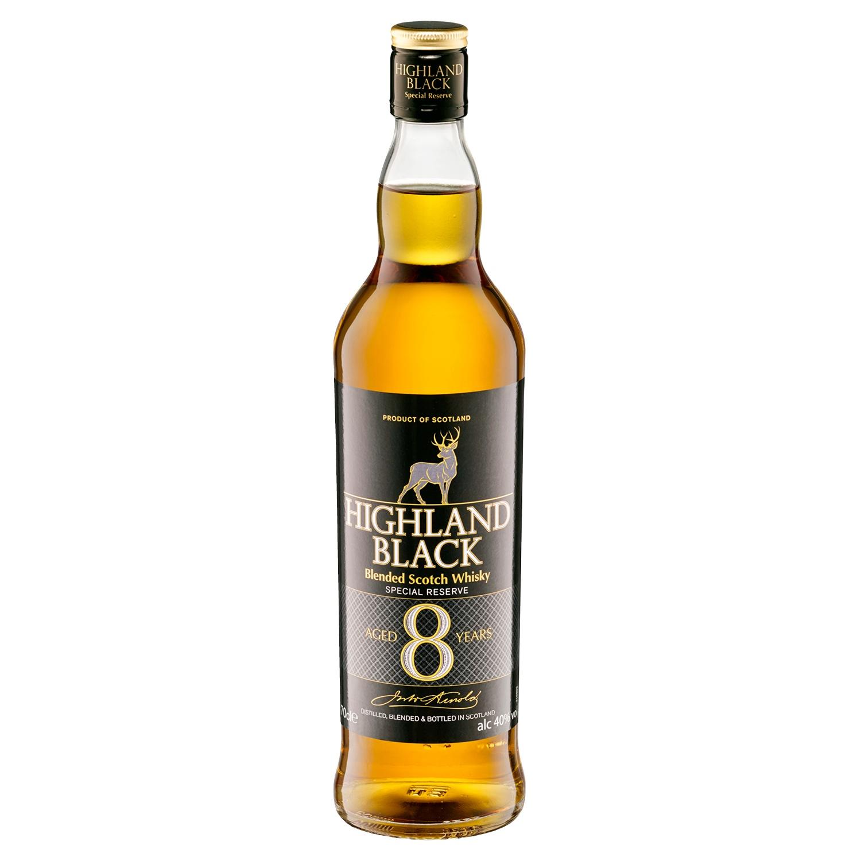 Highland Black Blended Scotch Whisky 0,7 l*