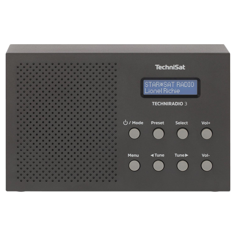 TechniSat Tragbares DAB+/ UKW-Radio TechniRadio 3*