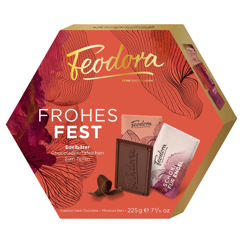 Feodora Schokoladen-Täfelchen 225 g*