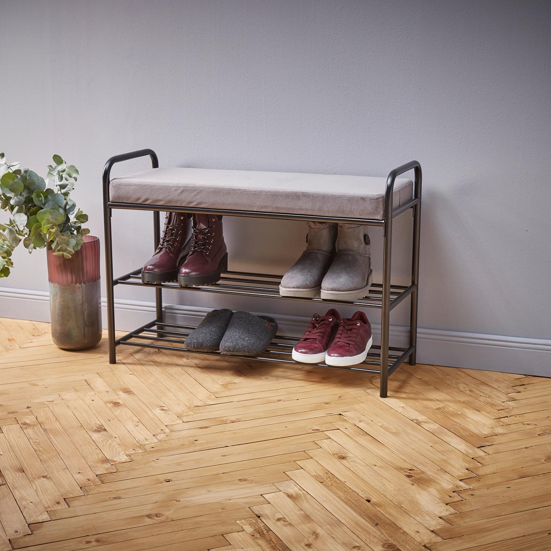 Living Style Schuhregal mit Sitzauflage*