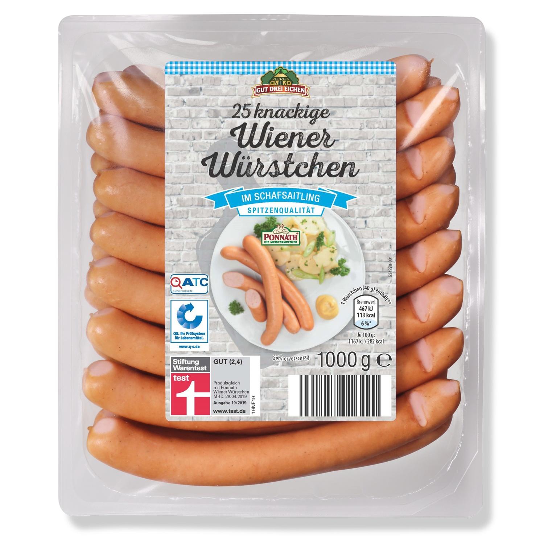 Gut Drei Eichen Wiener Würstchen 1 kg