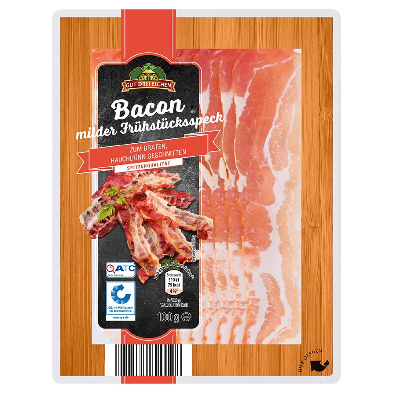 Gut Drei Eichen Bacon 100 g