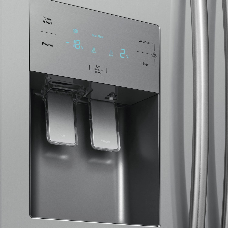 SAMSUNG Side-by-Side-Kühlschrank RS50N3803SA/EG