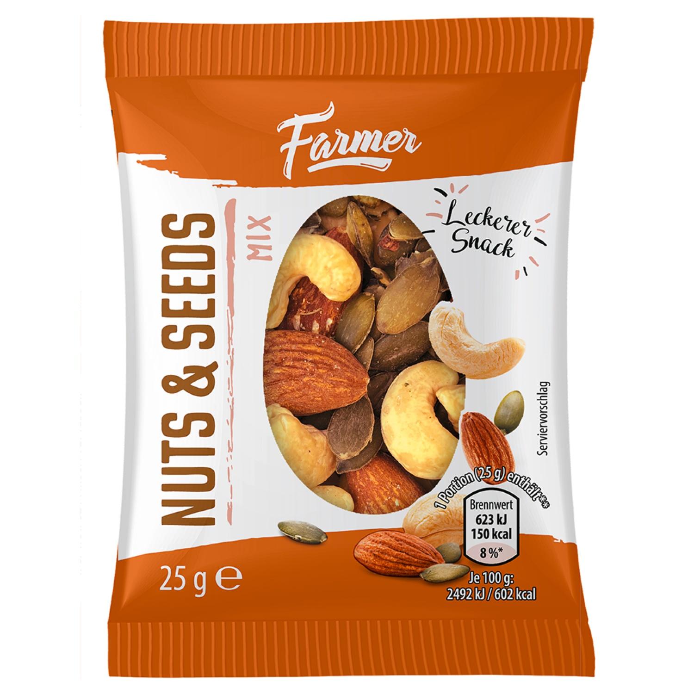 FARMER Mini Nuss Mix 25 g