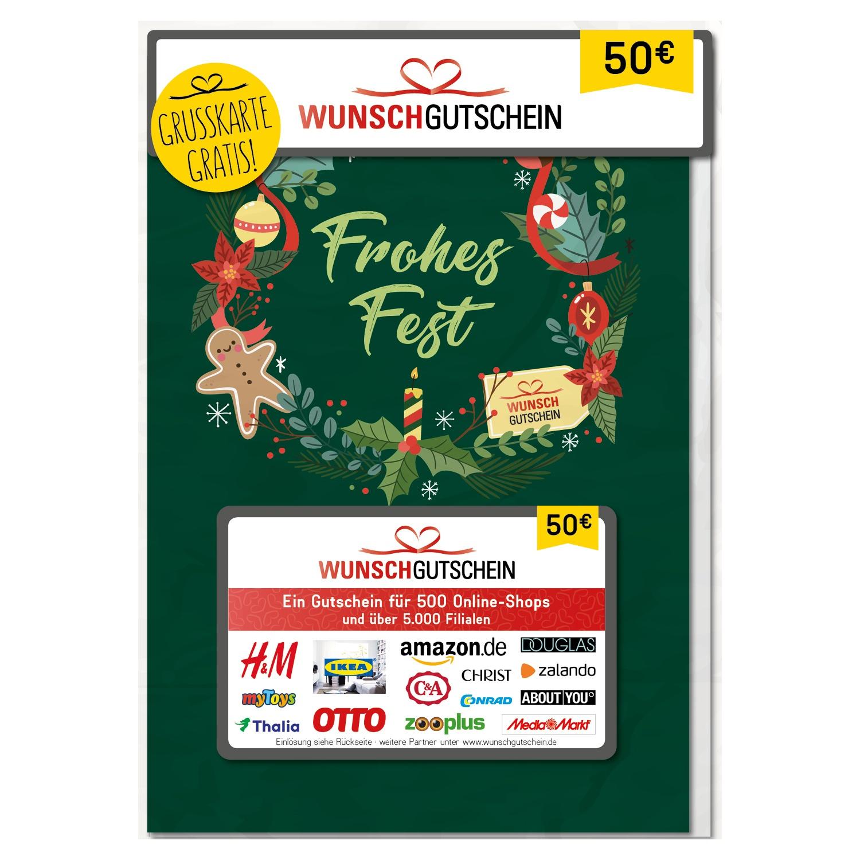 Wunschgutschein 50 Euro