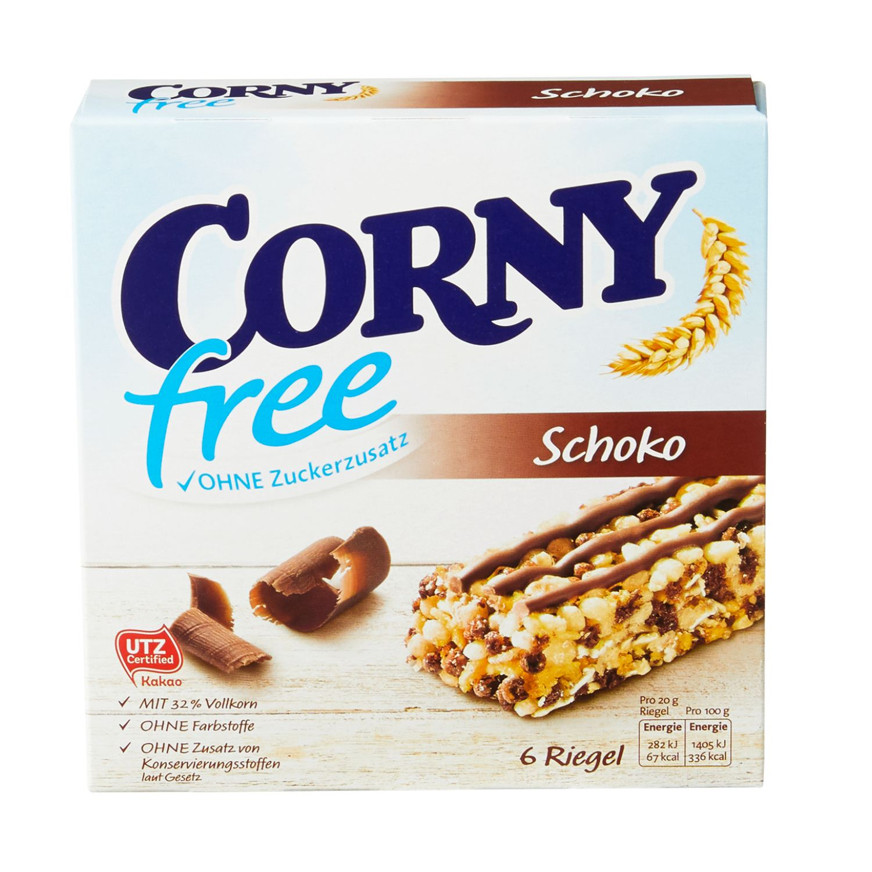 Corny Milch Classic/Schoko Free 120 g