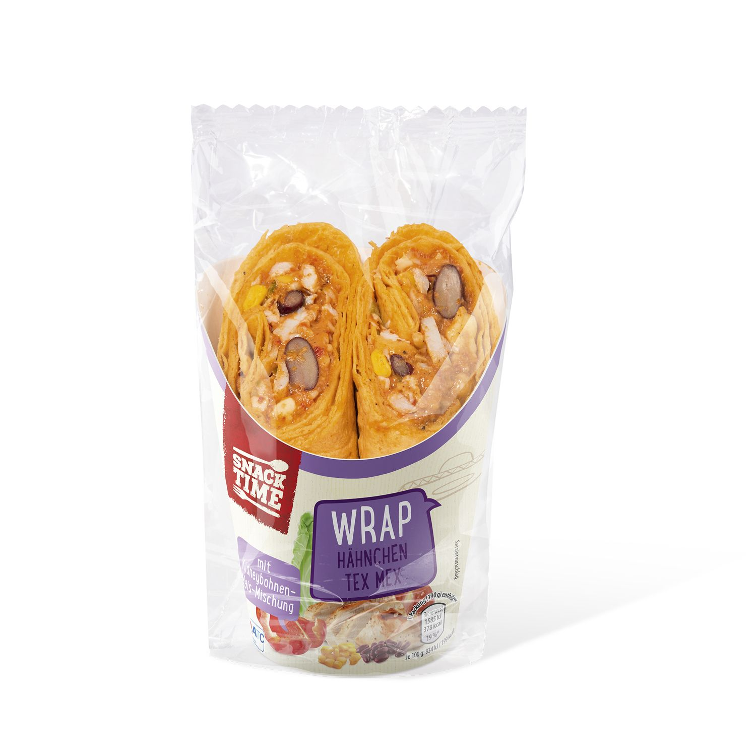 SNACK TIME Wraps 190 g