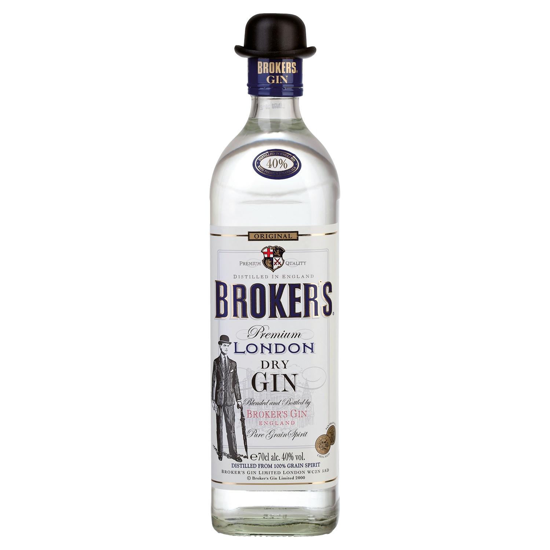 BROKER'S® Premium London Dry Gin 0,7 l*
