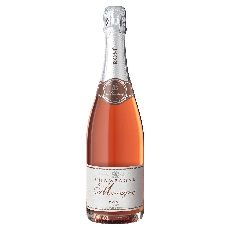 VEUVE MONSIGNY Champagne Rosé Brut 0,75 l