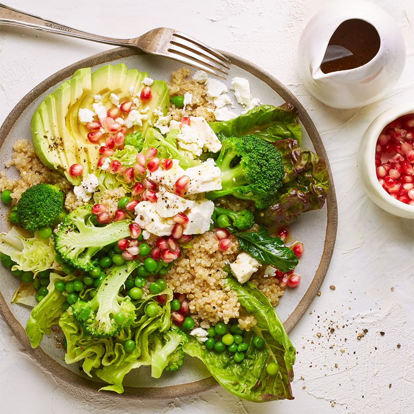 Superfood-Salat mit Quinoa