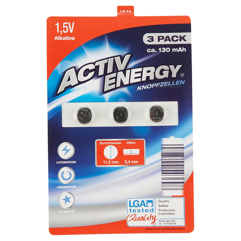 ACTIV ENERGY® Knopfzellen*