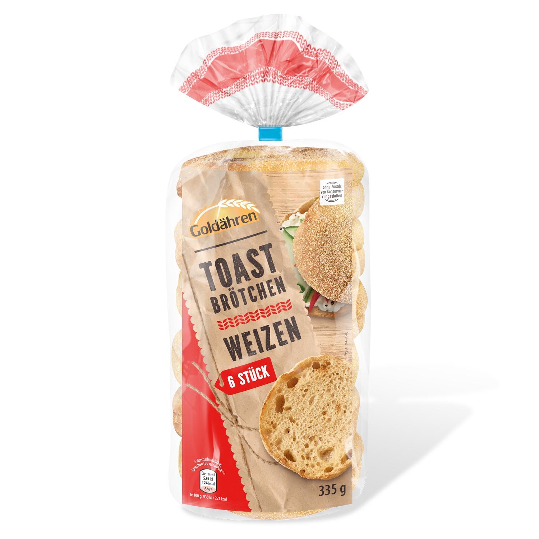 Goldähren Toasties Weizen 355 g