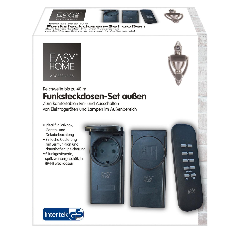 EASY HOME® Funksteckdosen-Set