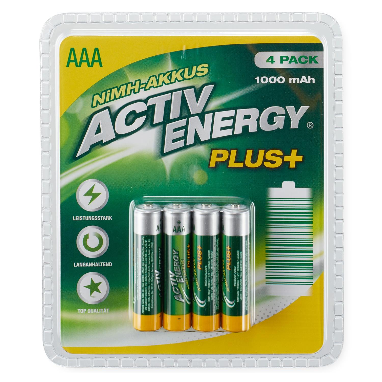 ACTIV ENERGY® NiMH-Hochleistungsakkus*