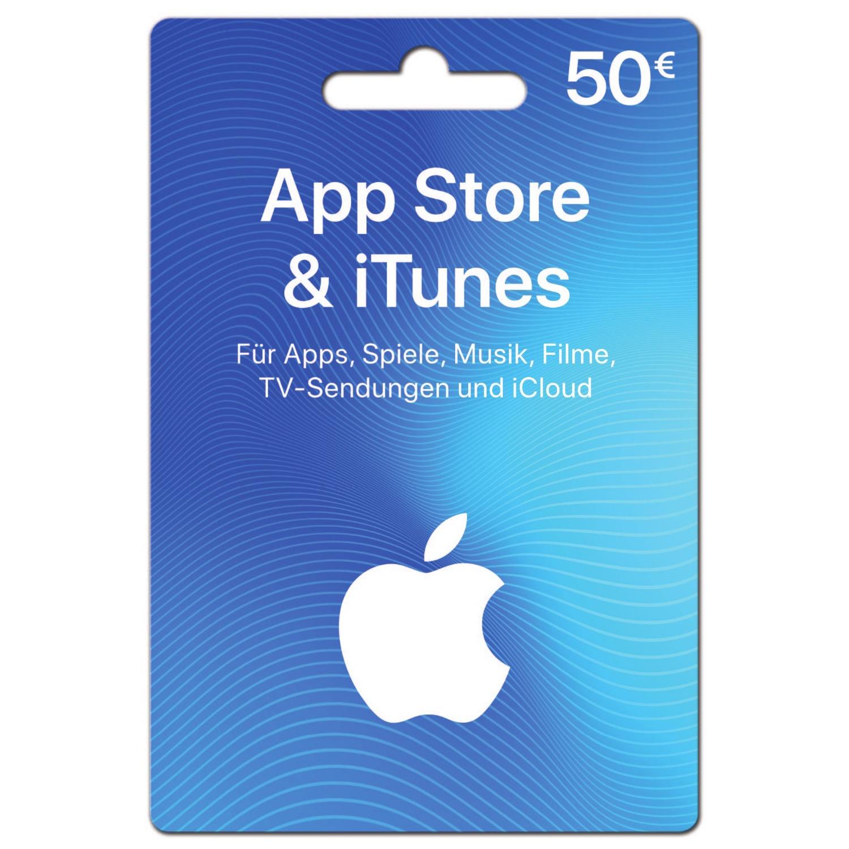 App Store & iTunes Geschenkkarte