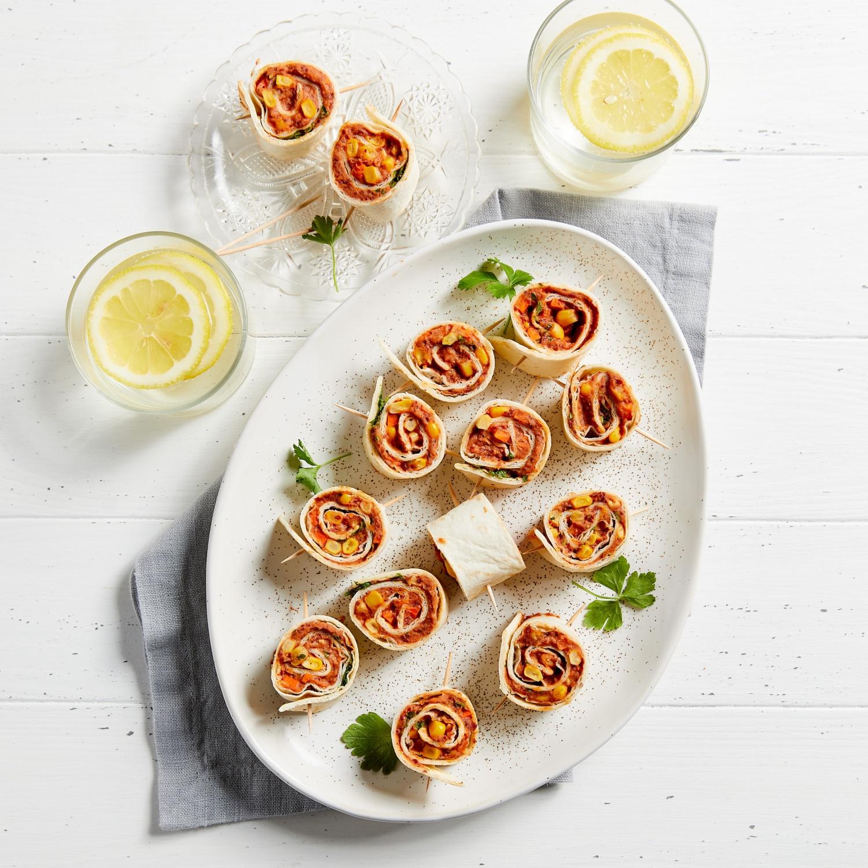 Vegane Tortillaschnecken