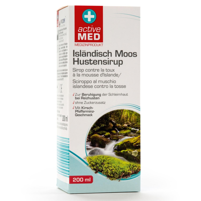 ACTIVE MED Isländisch Moos Hustensirup