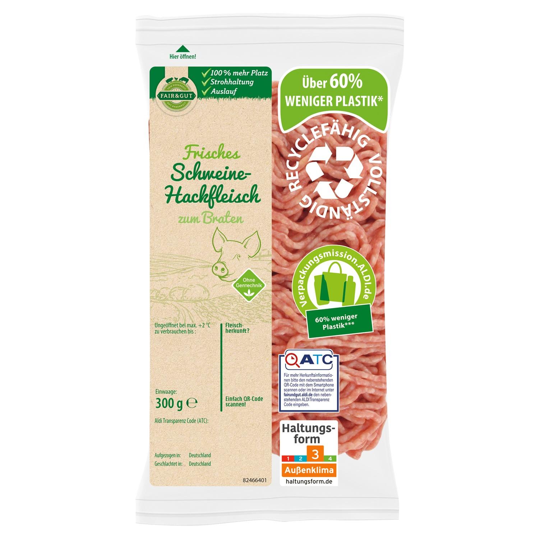 FAIR & GUT Schweine-Hackfleisch 300 g
