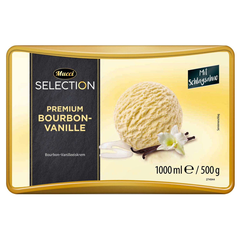 Mucci Premium Eisschale Vanille 1 l